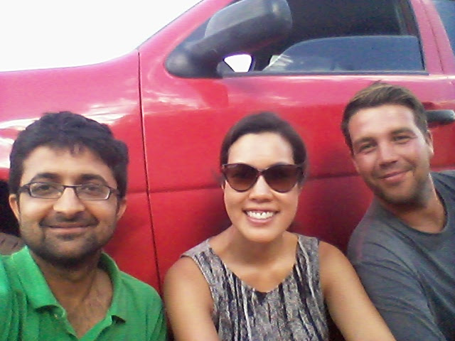 Rented Car with other travelers