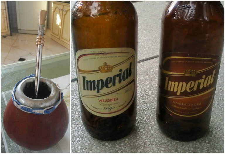 Mate and Imperial Beer