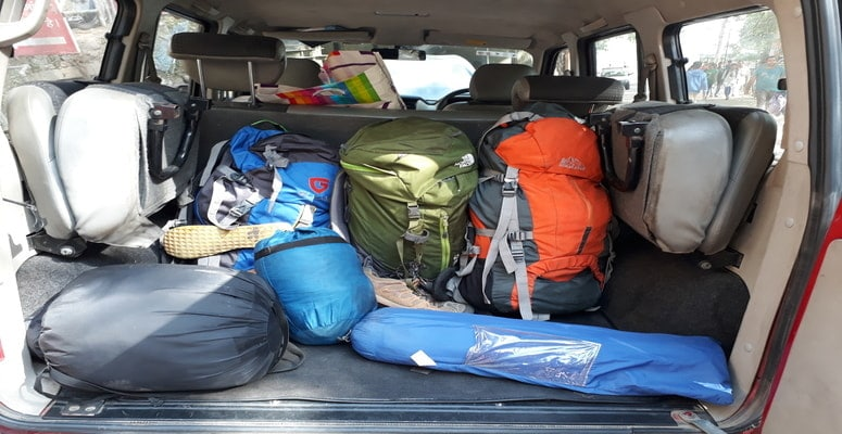Travel Gear for Spiti Valley India