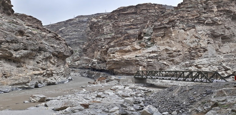 Unison of rivers Spiti and Sutlej