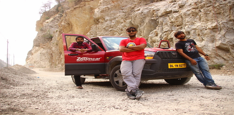 Travelers to Spiti Valley India