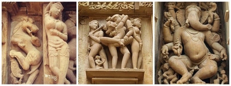 Khajuraho Sculptures Explained – Debunking The Myth Of The Sexual And Other Sculptures